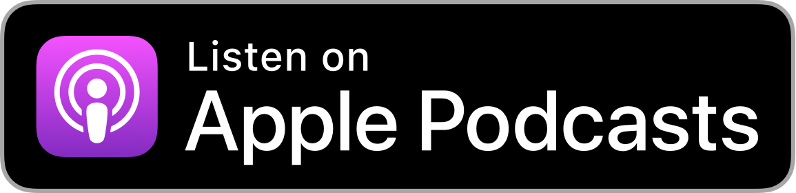 logo that says listen on apple podcasts
